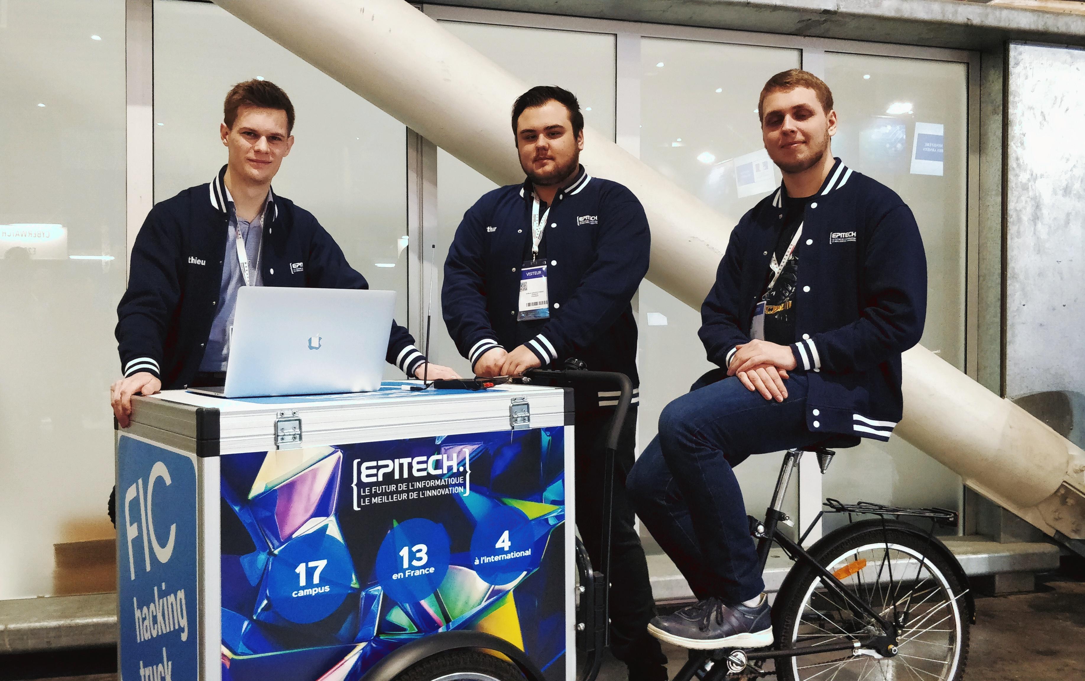 FIC Lille démo cybersécurité étudiant Epitech équipe
