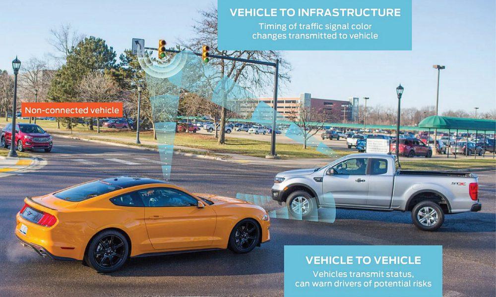 Ford CES 2019 C-V2X