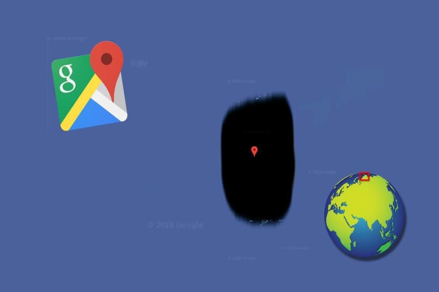 Google Maps : une île censurée