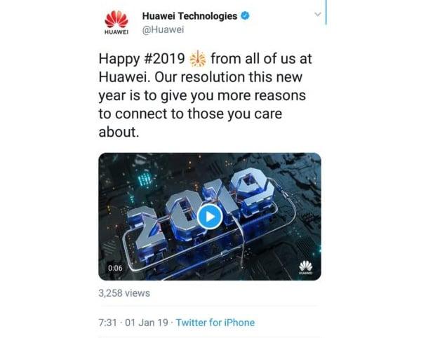 Des employés de Huawei sanctionnés pour avoir tweeté avec un iPhone d'Apple
