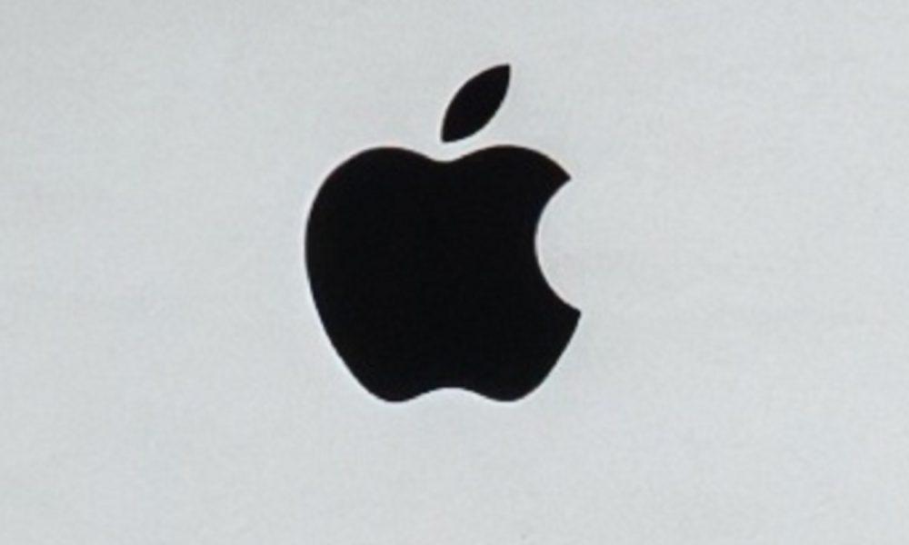 Le logo d'Apple sur un PC