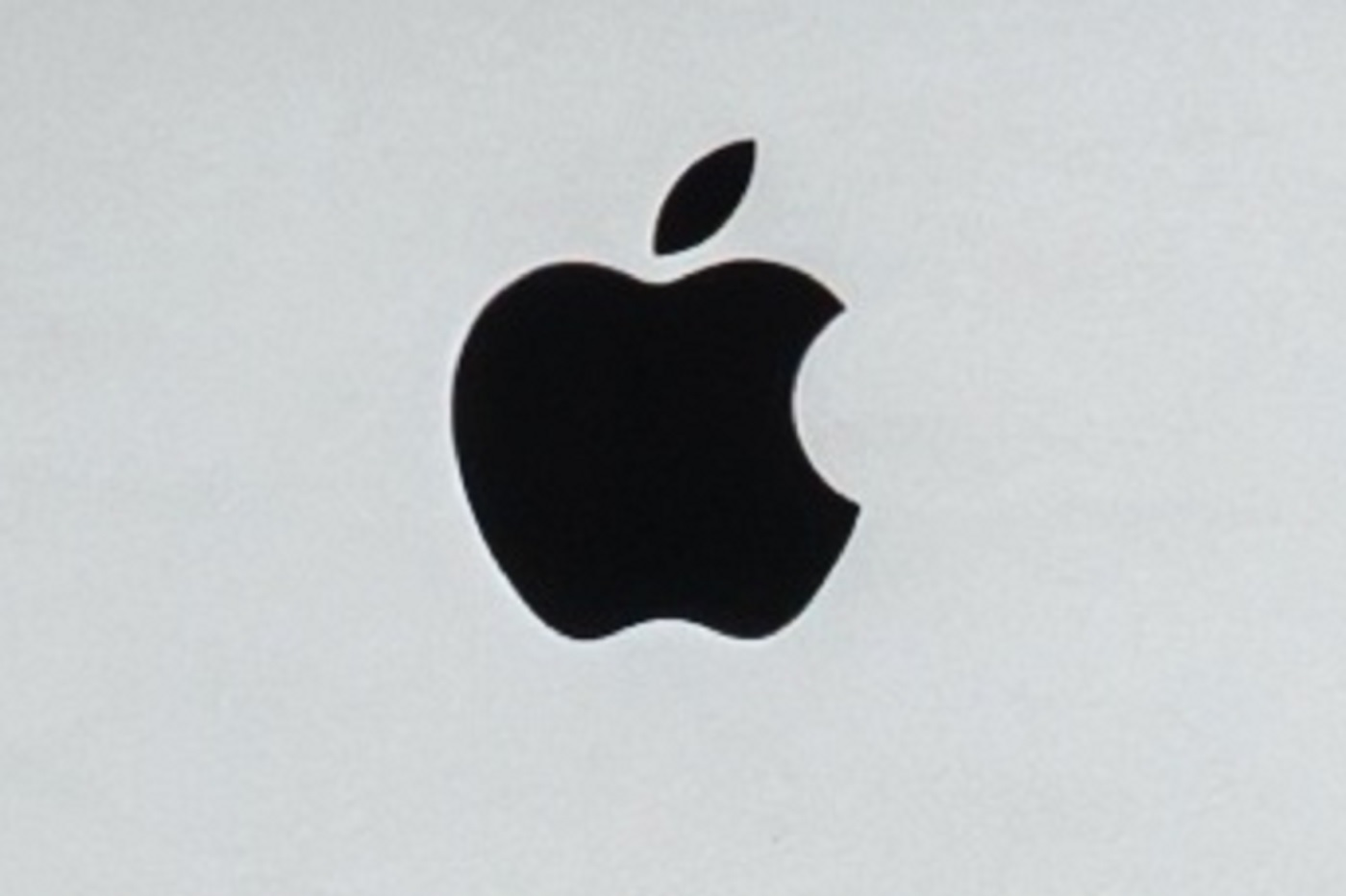 Le logo d'Apple sur un PC