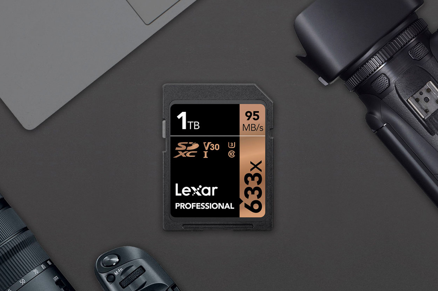 Lexar : une carte SD d'une capacité (record !) de 1 To