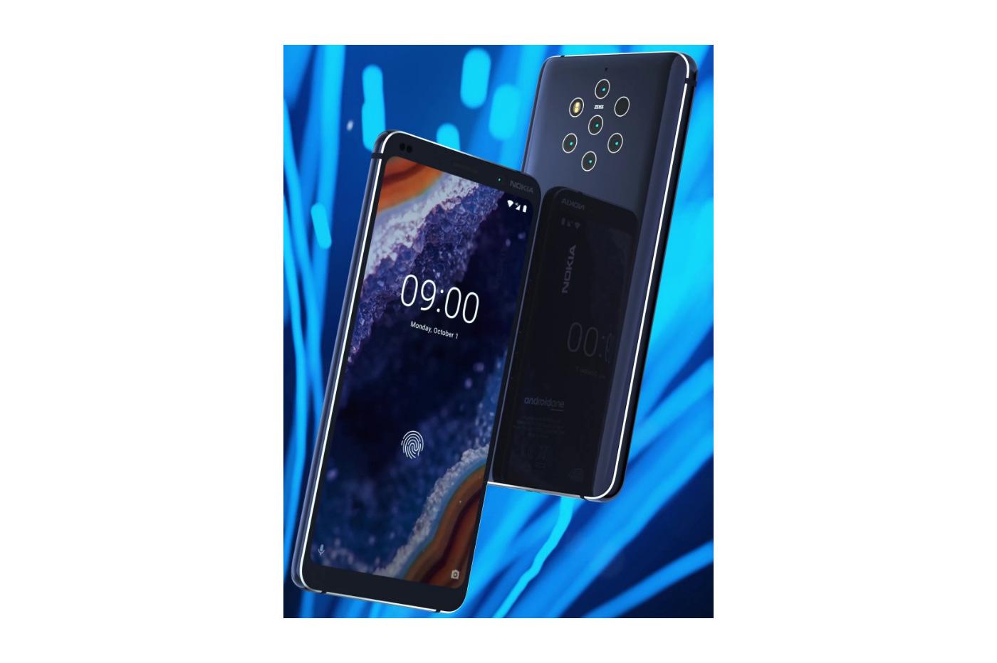 5 capteurs photos sur le prochain Nokia