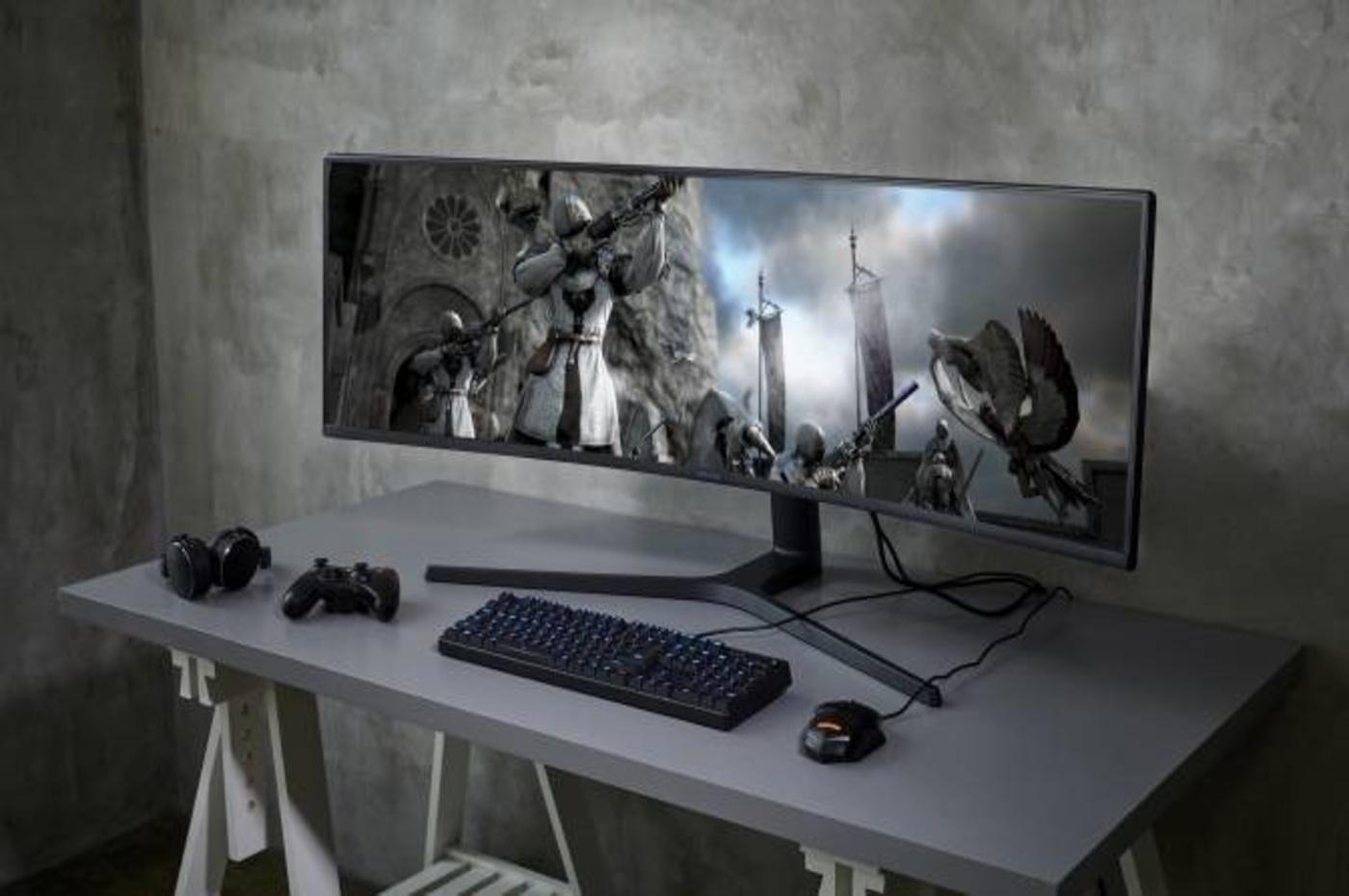 CES 2019 : Samsung dévoile son écran de 49 pouces pour gamers