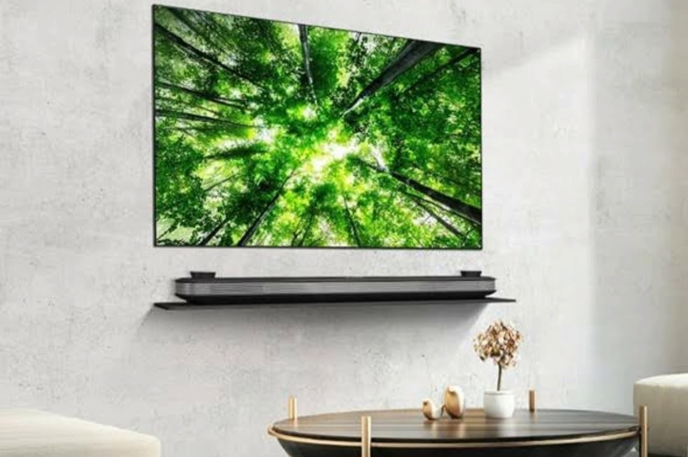 Téléviseurs LG au CES 2019