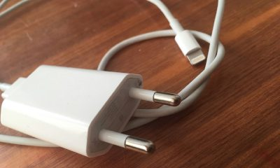 Un chargeur iPhone