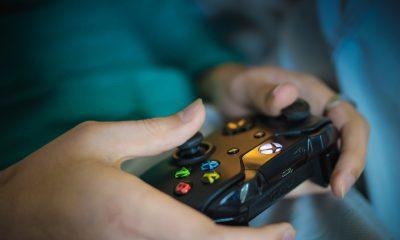 Une manette de Xbox Microsoft