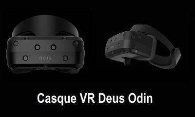CES 2019 : Casque VR Deus Odin