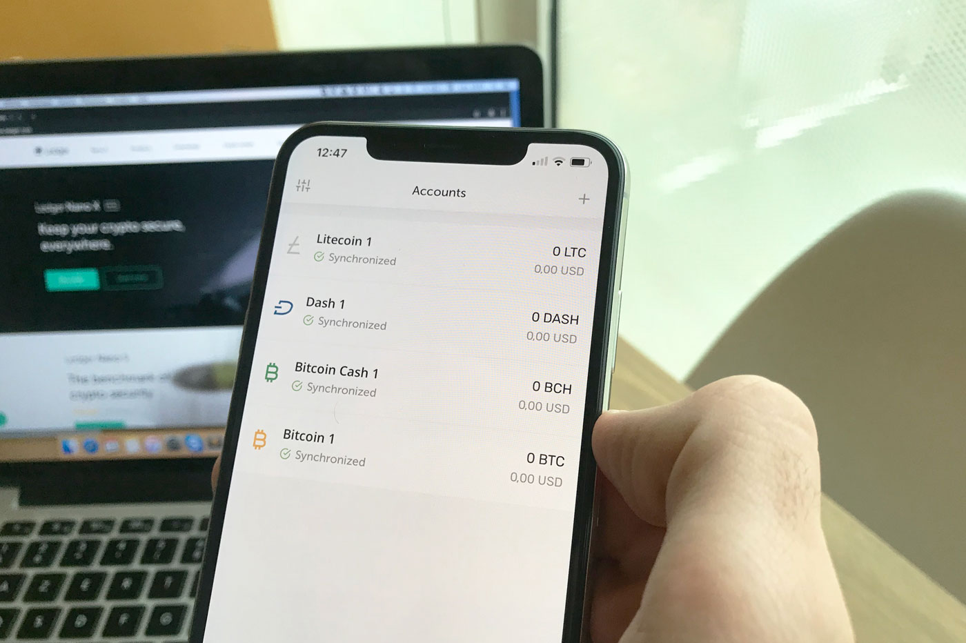 Accounts Ledger Nano X