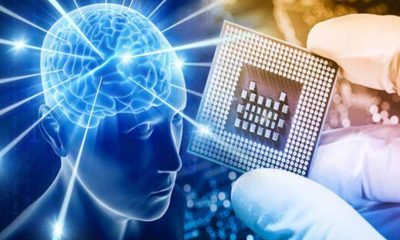 implant dans le cerveeau pour un visage bionic