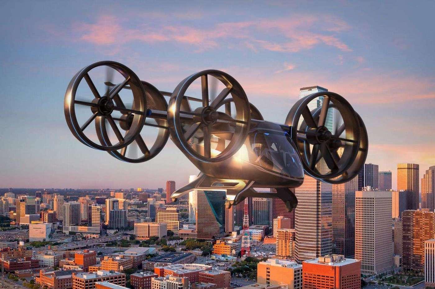 Taxis volants : ce que préparent les différents géants du secteur