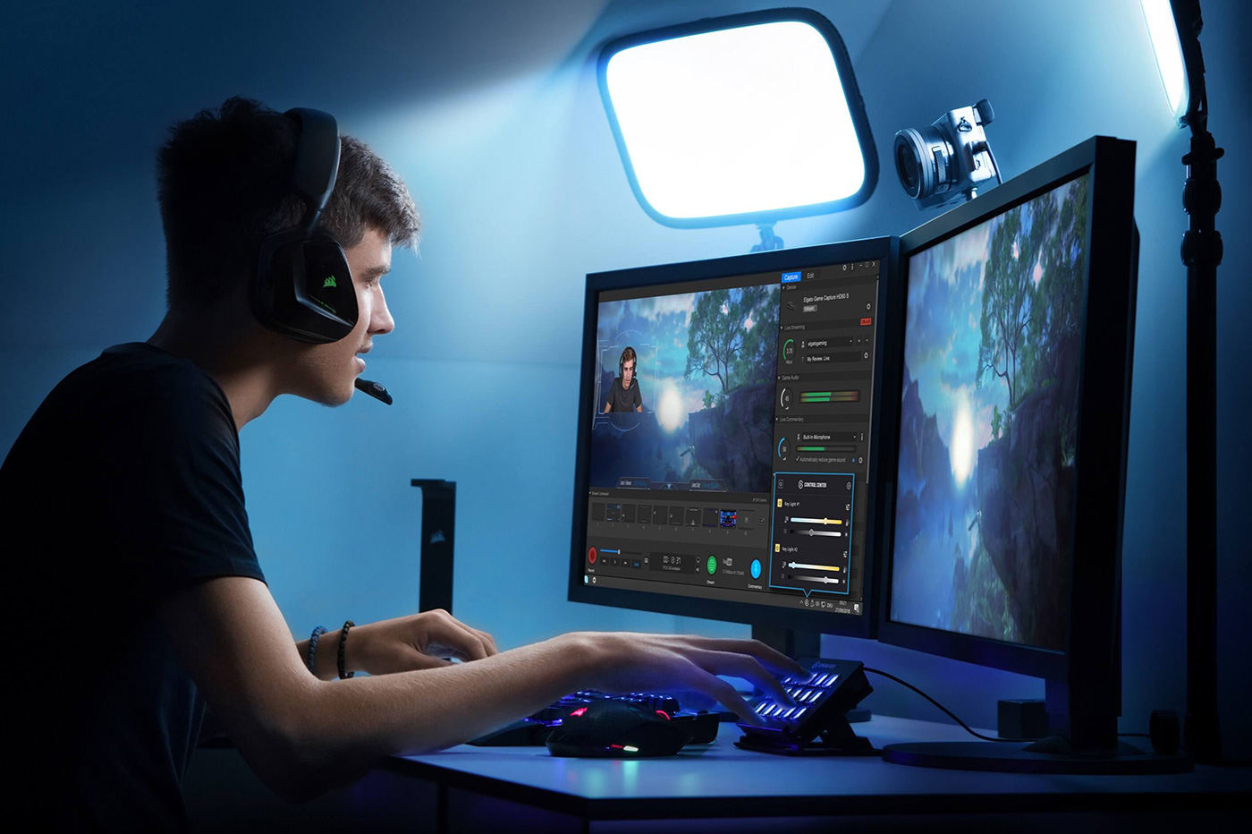 Elgato Eve éclairage YouTubeurs