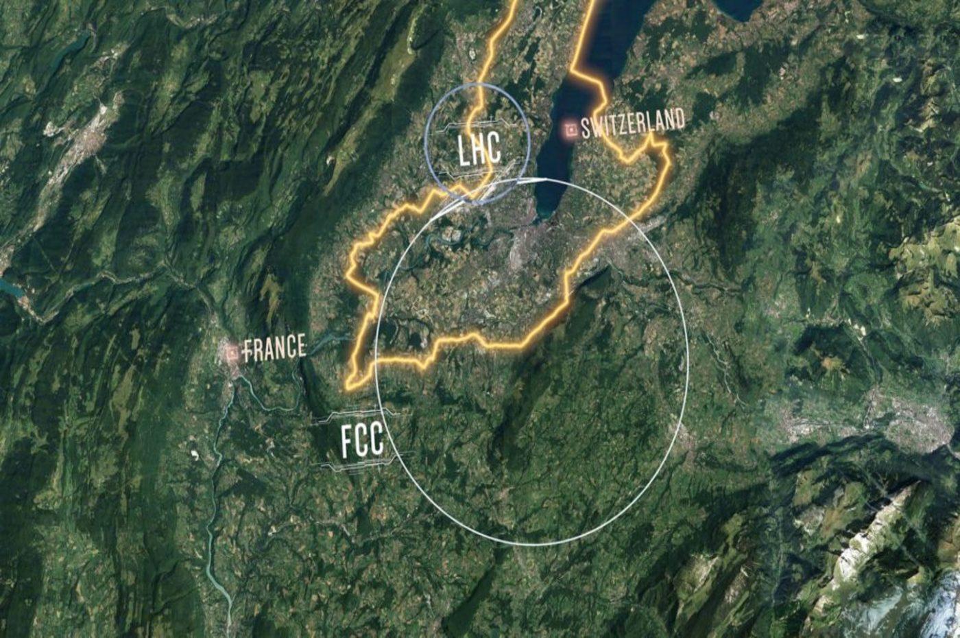un nouveau collisioneur de particules pour le CERN