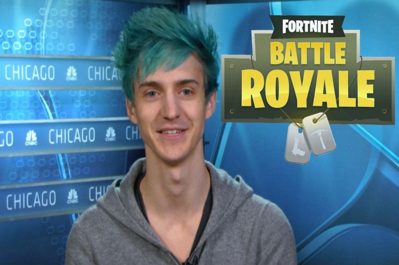 Ninja, le numéro sur Fortnite