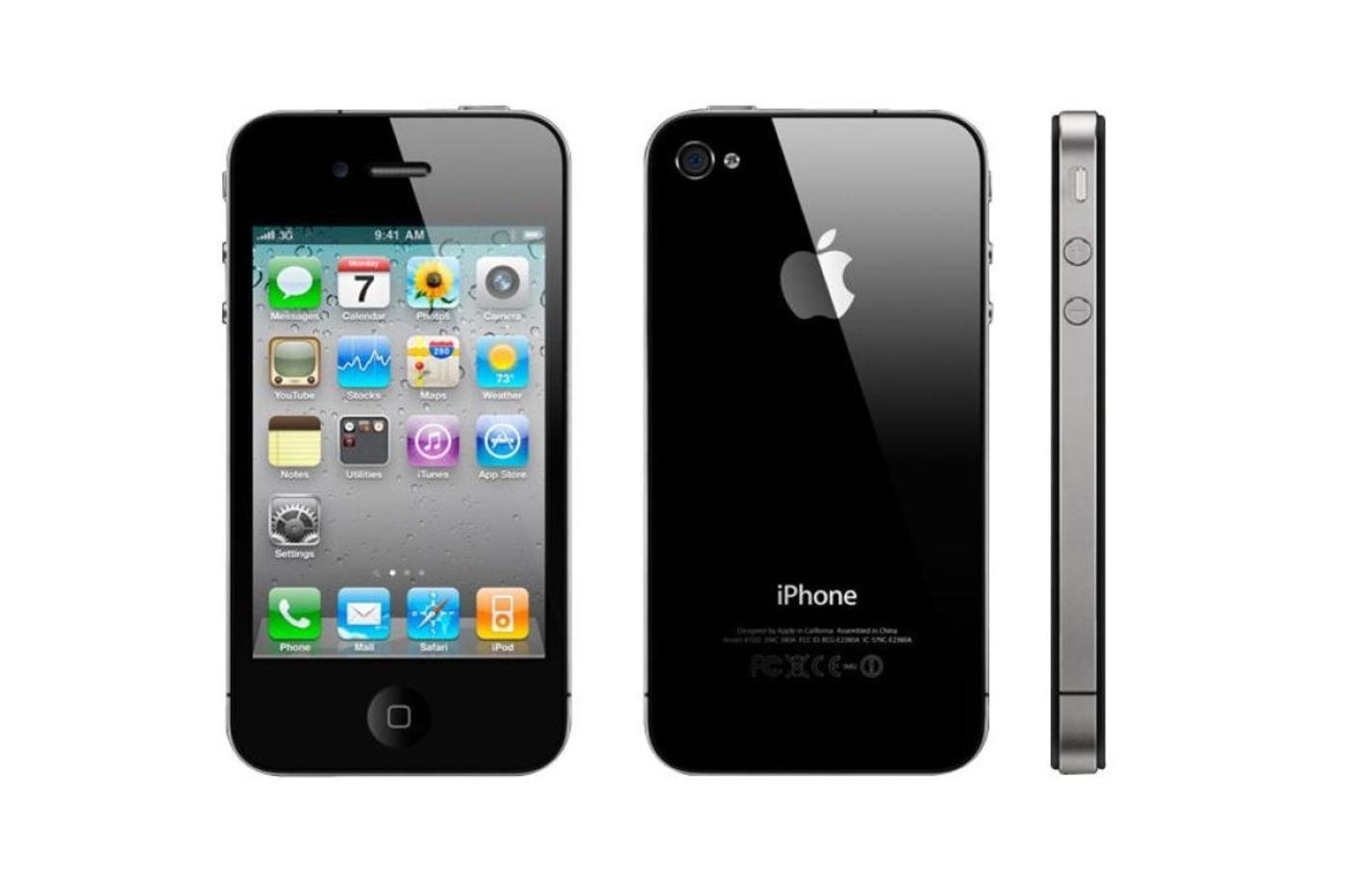 un rein contre un iPhone 4