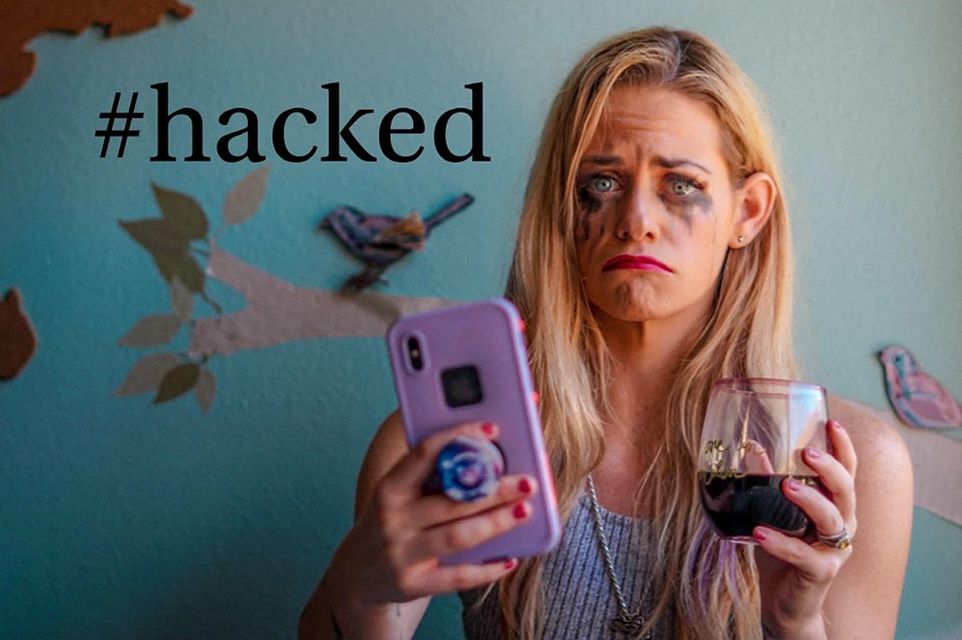Lindsie Comerford influenceuse hackee
