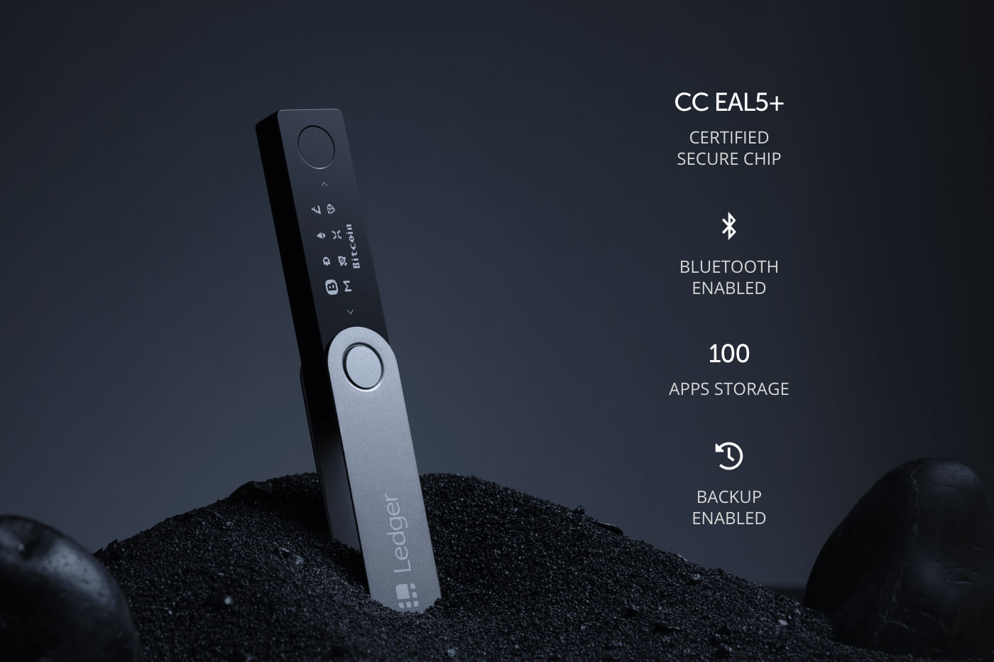 Nano ledger s supported crypto