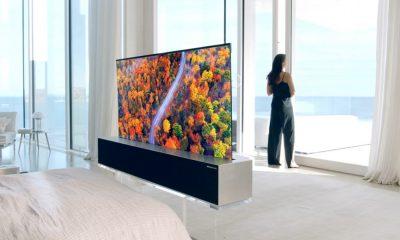 LG téléviseur enroulable