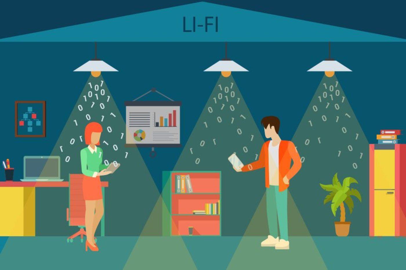 Fonctionnement du LiFi