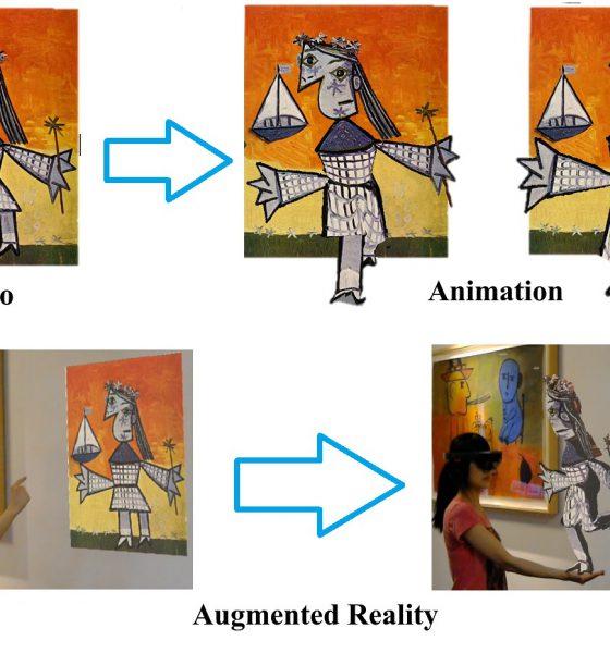 Des animations 3D à partir d'une simple photo
