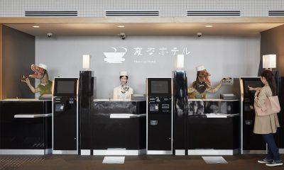 Robot hôtel Japon
