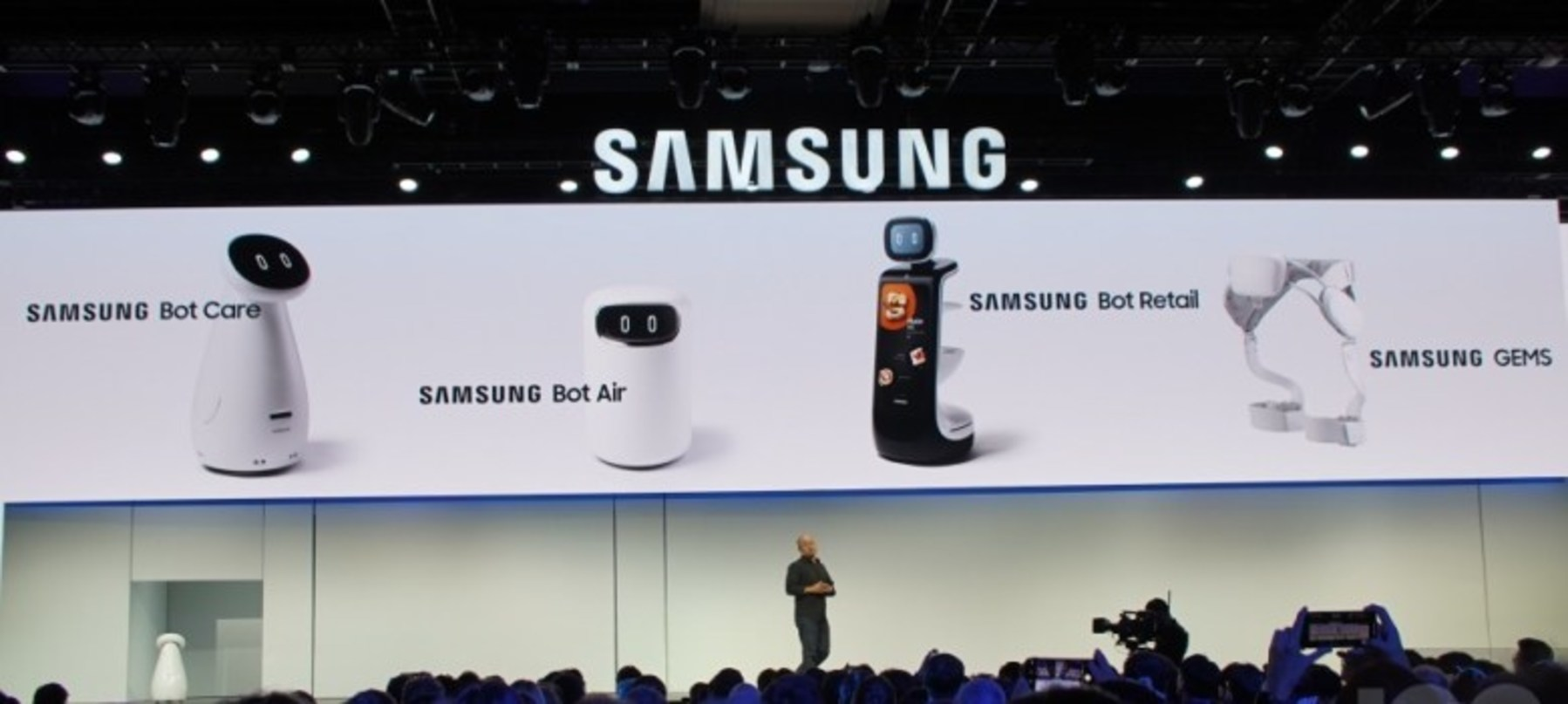 CES : Samsung et les robots