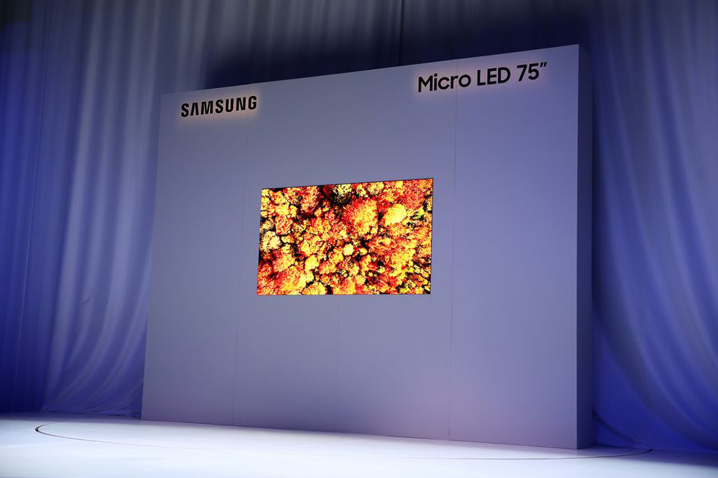 Samsung The Wall Micro LED