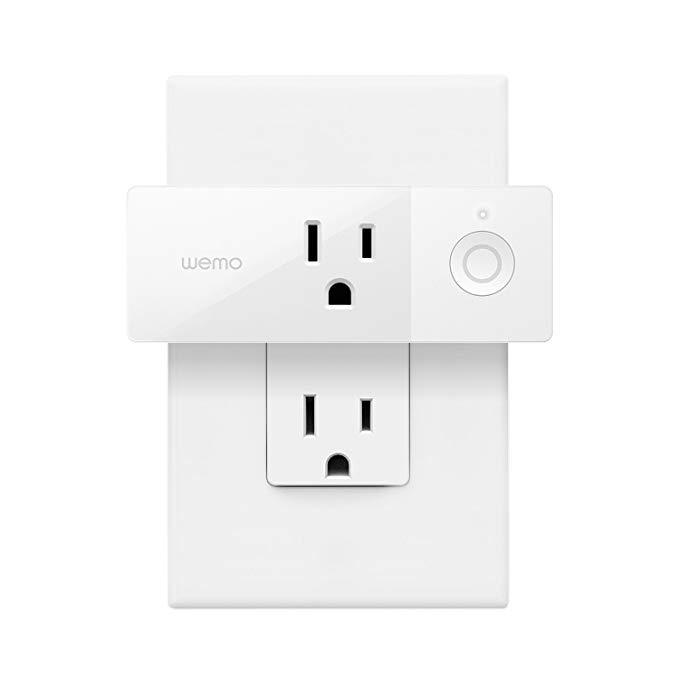 smart plug Wi-Fi mini Wemo