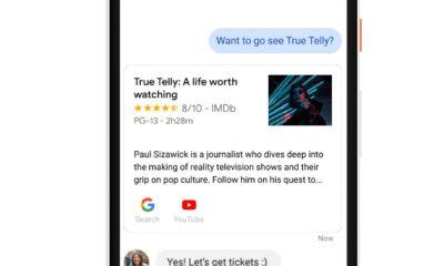 La fonctionnalité Google Assistant sur Android Messages