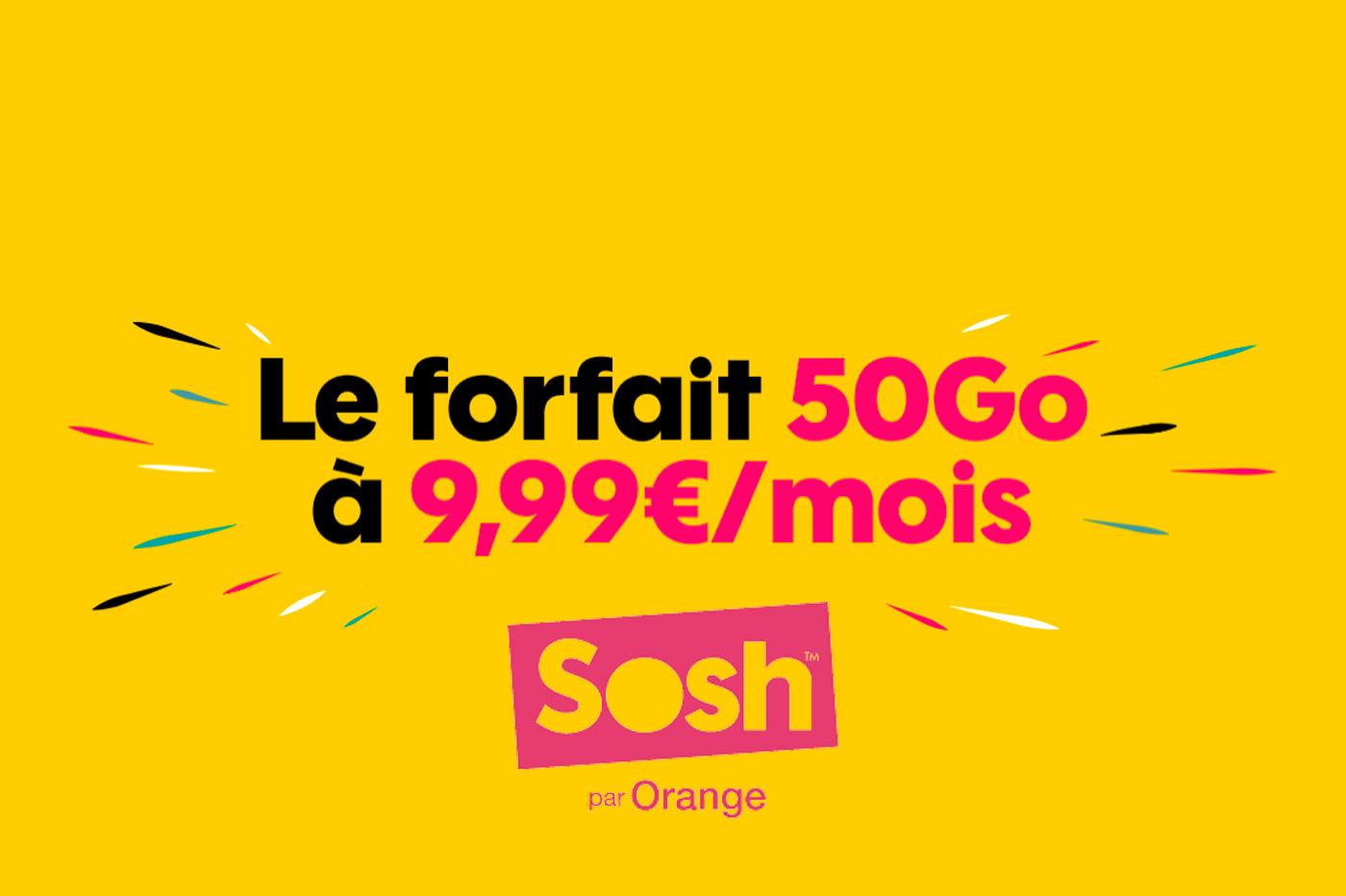 Bon Plan Sosh Forfait Mobile