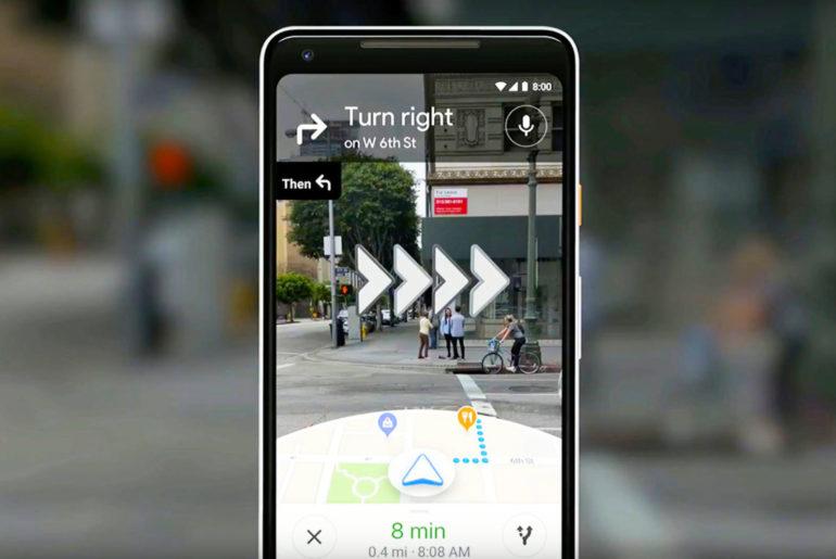 Google Maps en réalité augmentée
