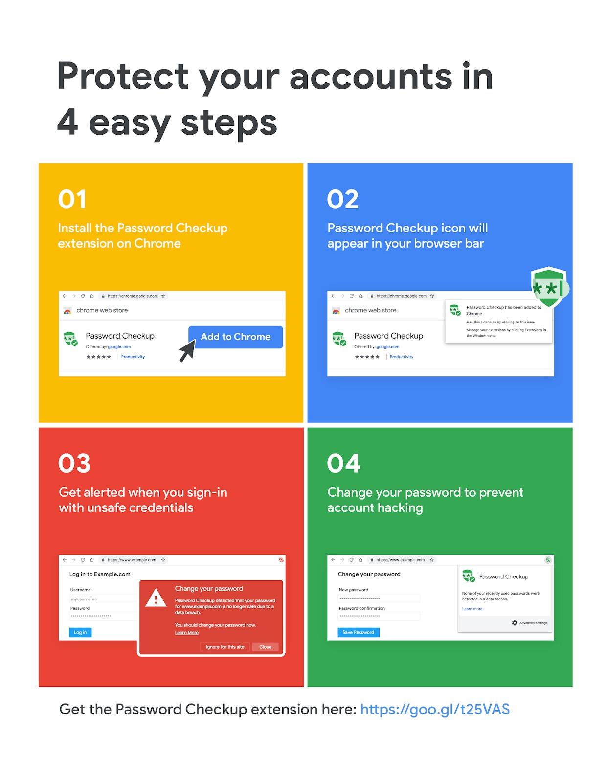 Chrome vérifie vos identifiants et mots de passe — Piratage