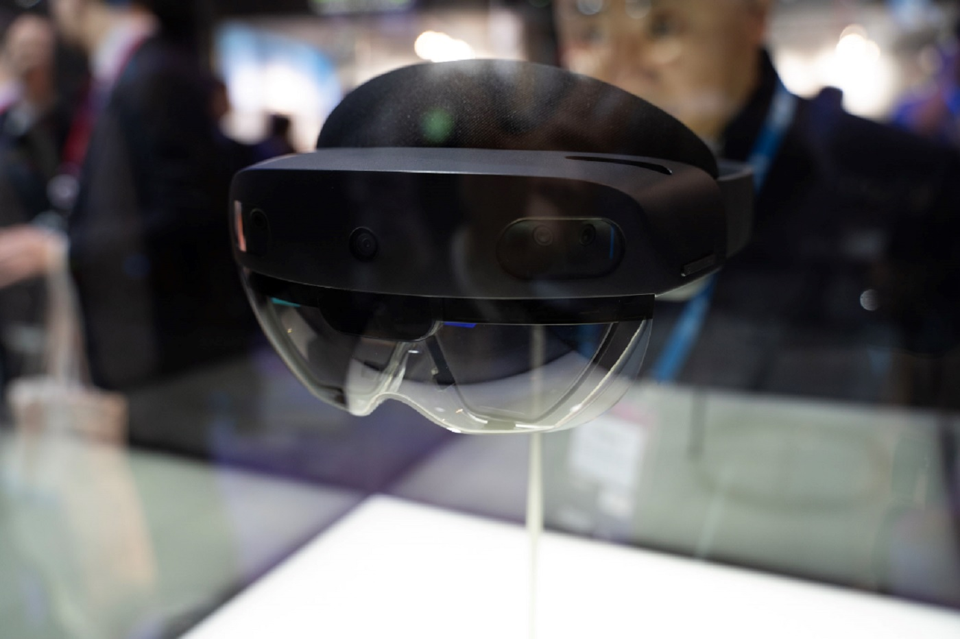 Les Hololens 2 de Microsoft au Mobile World Congress de Barcelone