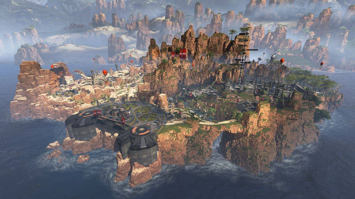 Map Apex Legends