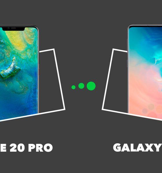 Mate 20 Pro vs Galaxy S10