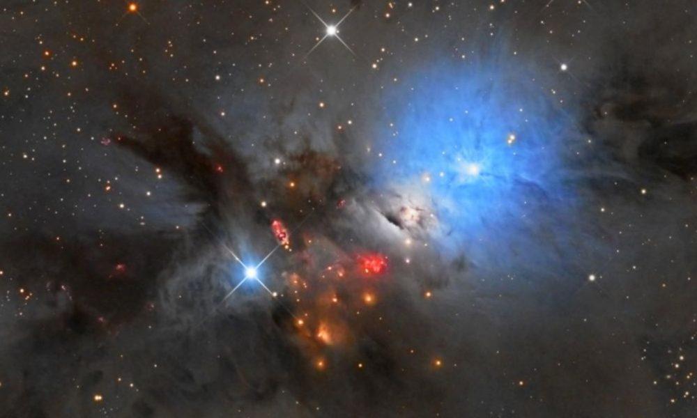 NASA étoile bleue