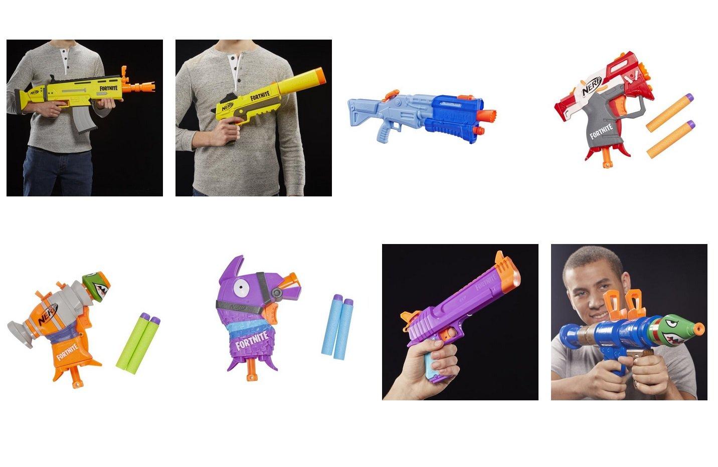 pistolets Nerf Fortnite