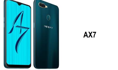 Oppo lance le AX7