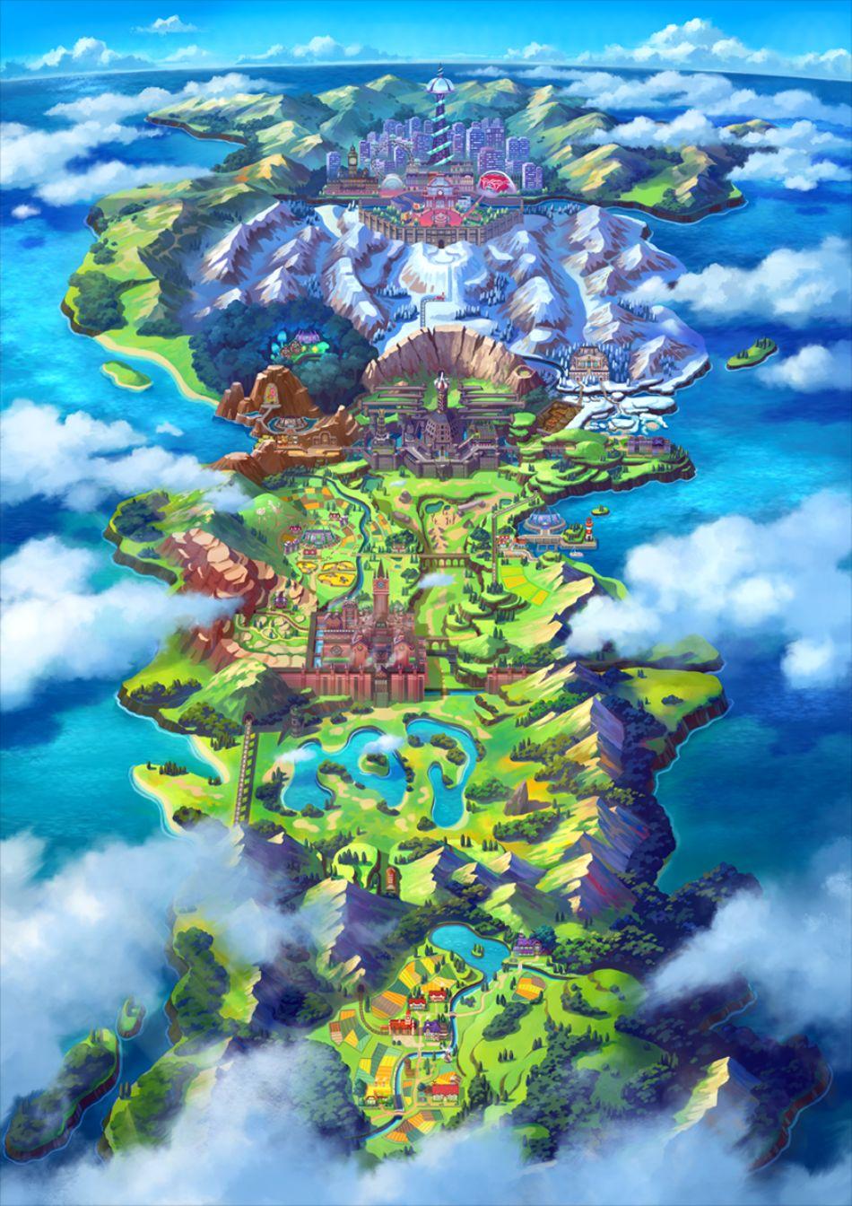 Pokemon Galar Region
