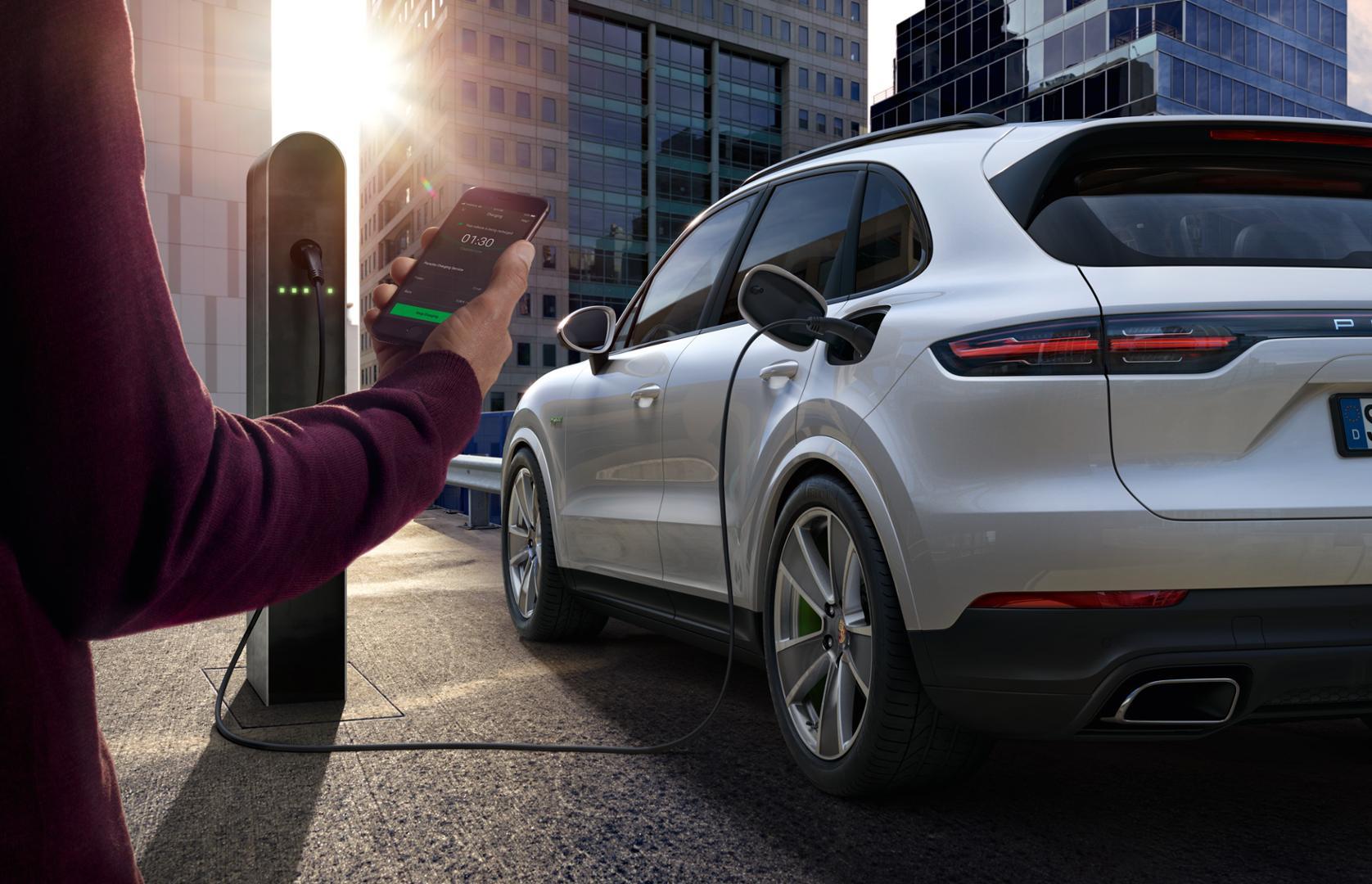 Porsche Charging
