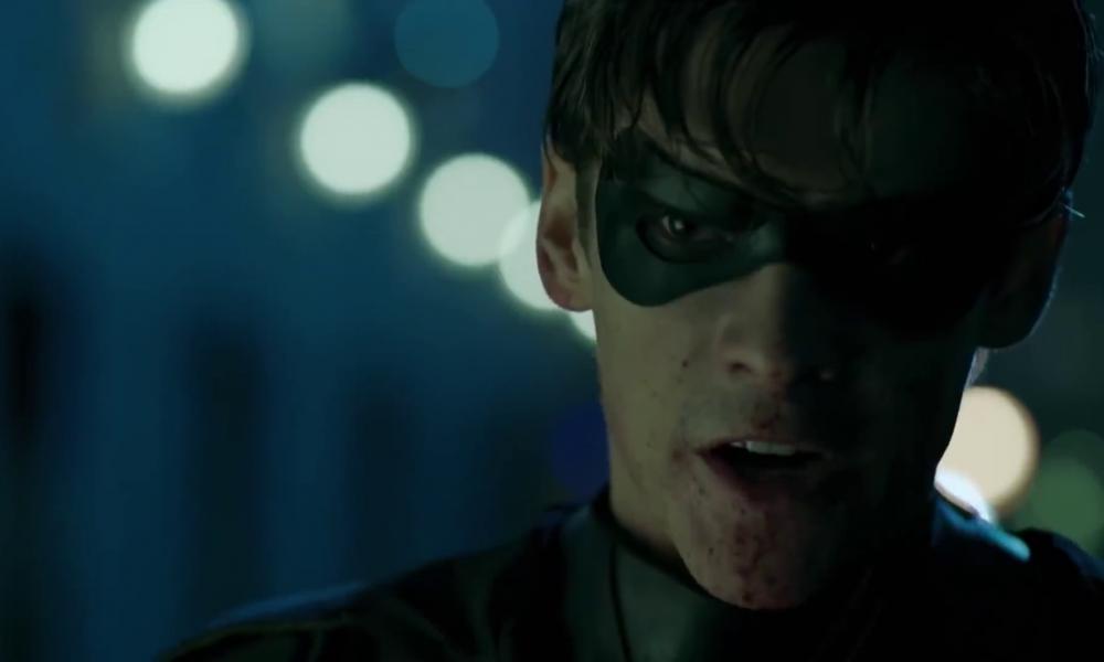 Titans saison 1 avis critique scène post-crédit superboy spoilers