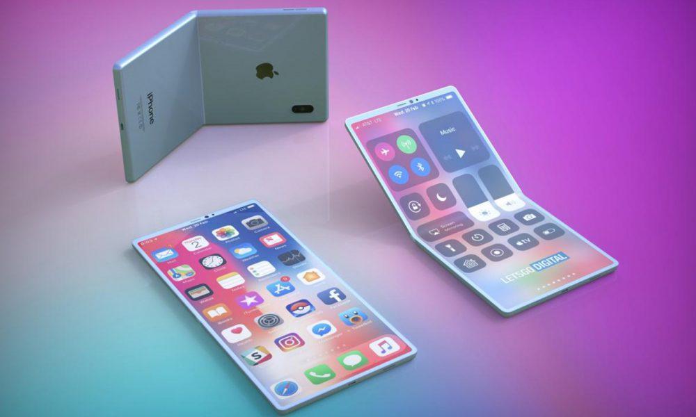 Apple iPhone pliable