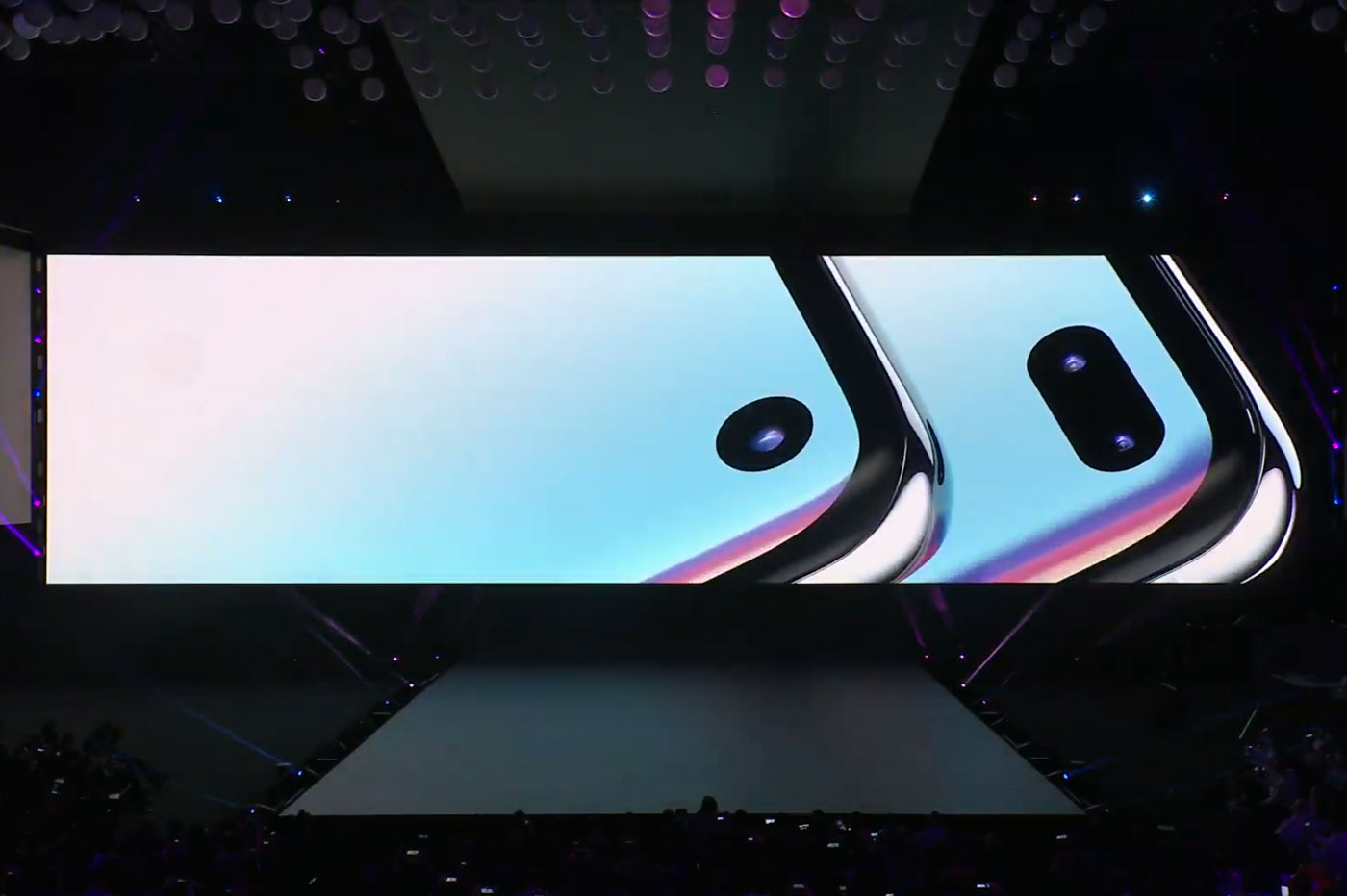 Caméra Samsung Galaxy S10
