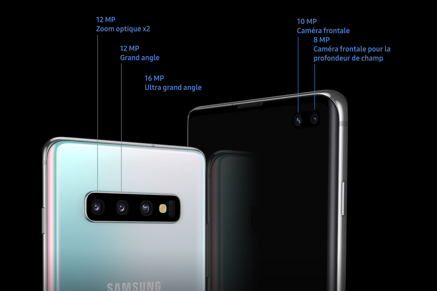 Triple capteur photo du Galaxy S10