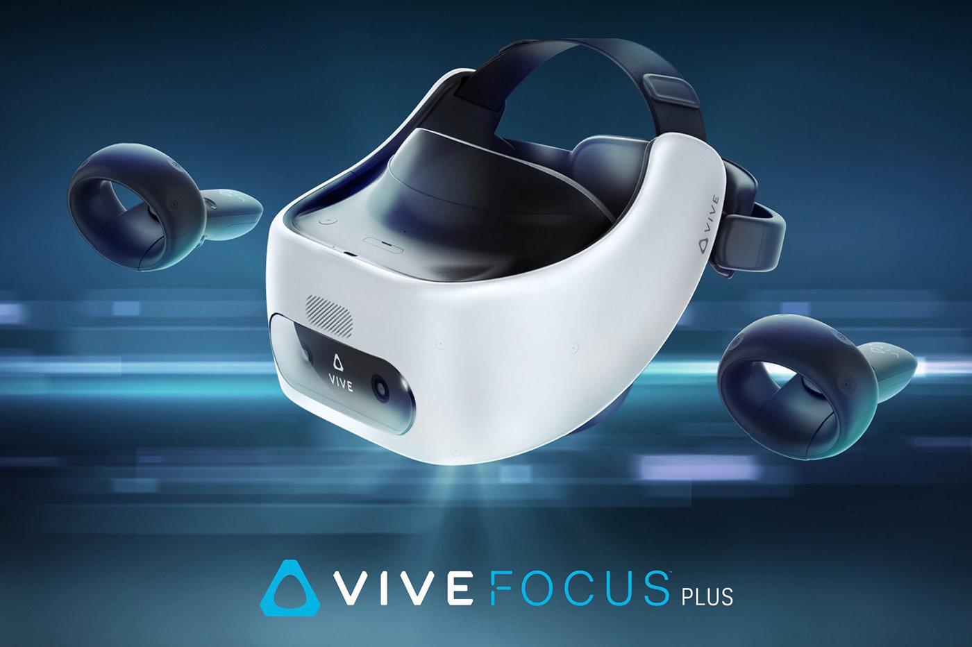 Casque VR HTC Vive Focus Plus