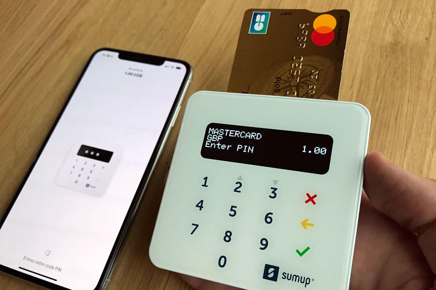 Carte bancaire SumUp