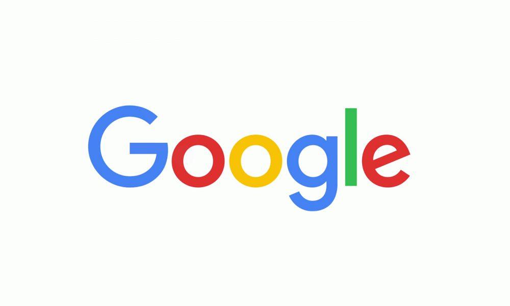 Google logo actuel