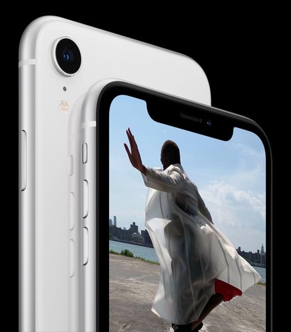 iPhone XR Blanc