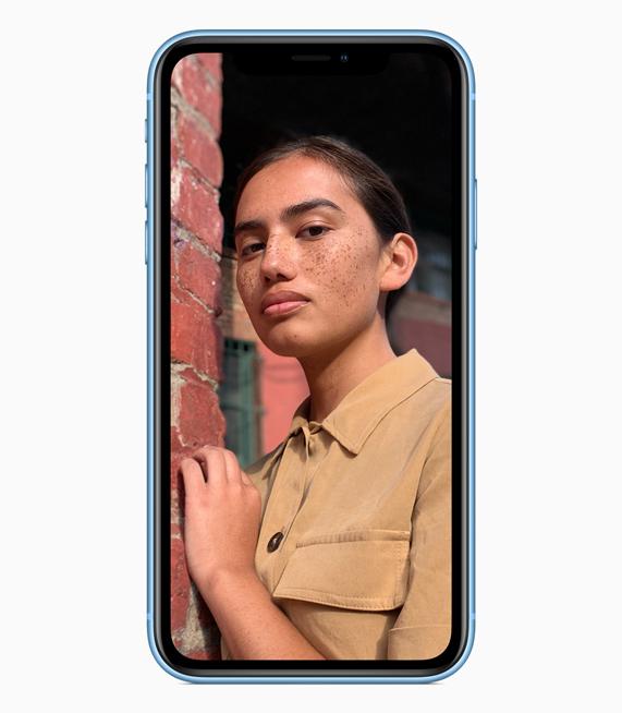 Mode Portrait iPhone XR